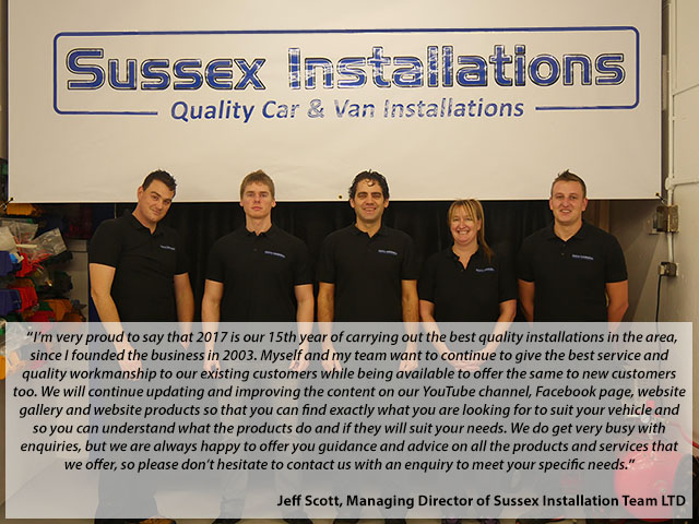 Jeff Scott, Director of Sussex Installations LTD